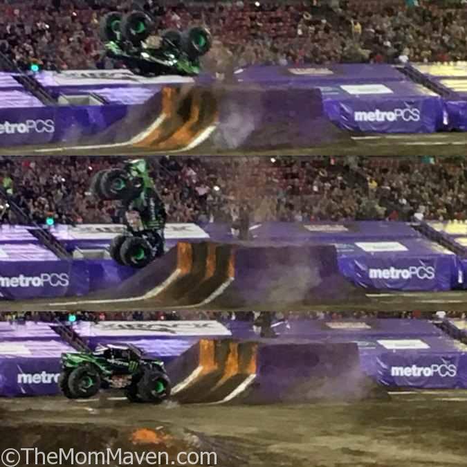 Monster Energy Backflip Tampa Monster Jam 1-14-17