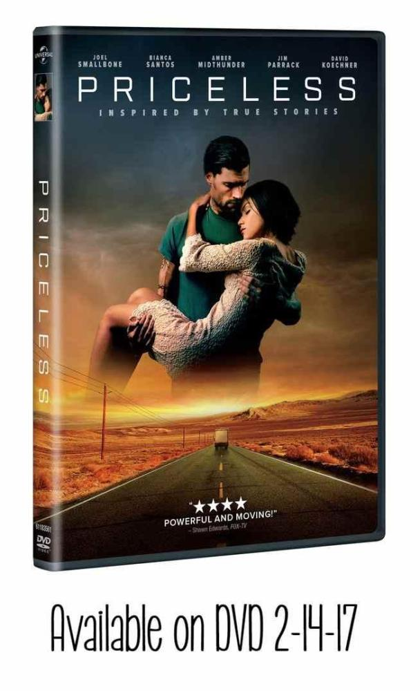 Priceless DVD available 2-14-17