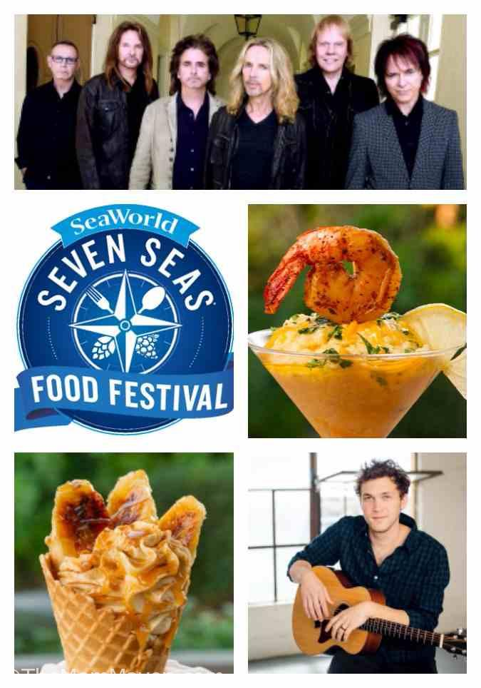 Combining unique culinary delights with memorable performances on 14 consecutive Saturdays, the Seven Seas Food Festival is coming to SeaWorld Orlando Feb. 11 – May 13, 2017.