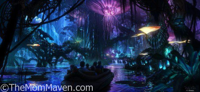 Pandora-The World of Avatar is Coming to Walt Disney World in 2017