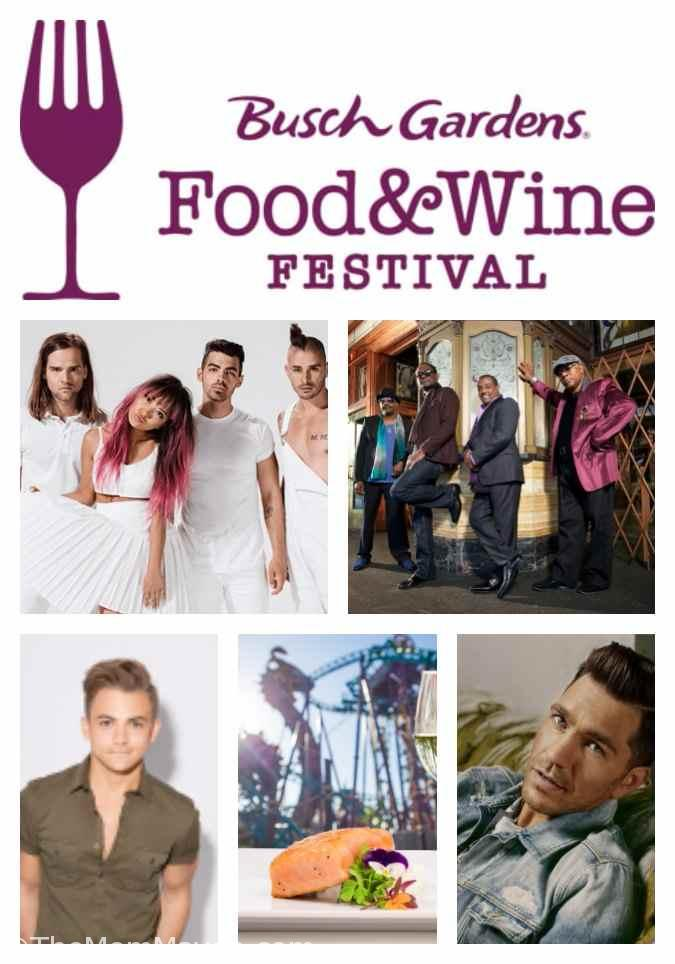 2017 Busch Gardens Tampa Bay Food And Wine Festival The
