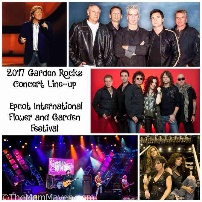 2017 Garden Rocks Concert Line Up Epcot International Flower And Garden Festival The Mom Maven