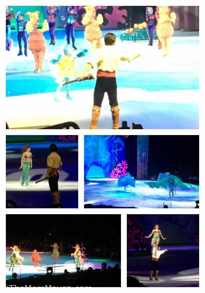 Our annual outing to see Disney on Ice is always a family favorite. The shows are appropriate for boys and girls of all ages. The Little Mermaid