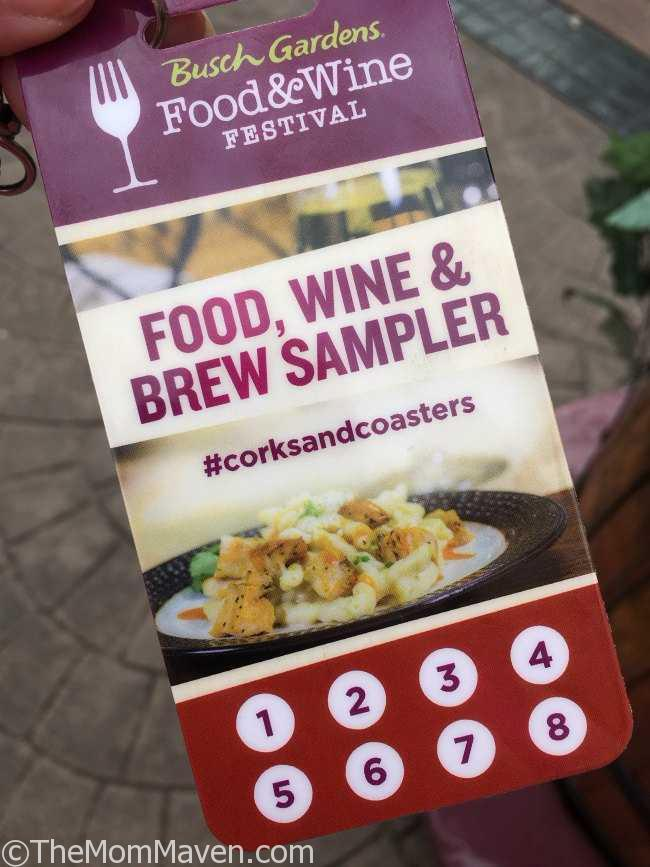 Our Visit To The 2017 Busch Gardens Food And Wine Festival The Mom Maven