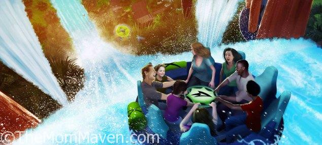 Infinity Falls river rapids ride coming to SeaWorld Orlando in 2018.