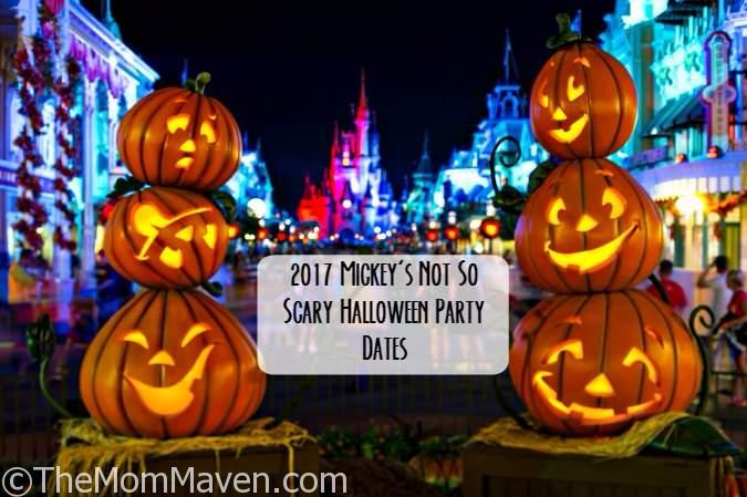 2017 Mickey's Not So Scary Halloween Party and Mickey's Very Merry ...