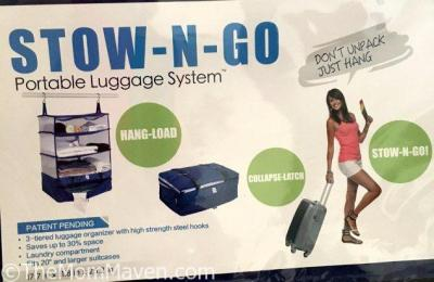 Stow-N-Go Portable Luggage System Review