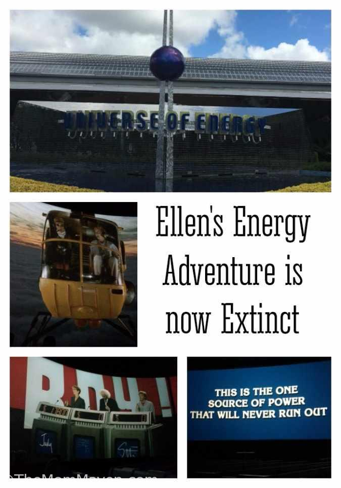 Last month at D23 Expo it was announced that Ellen's Energy Adventure at Epcot would be closing on August 13, 2017 to make way for a Guardians of the Galaxy Attraction.