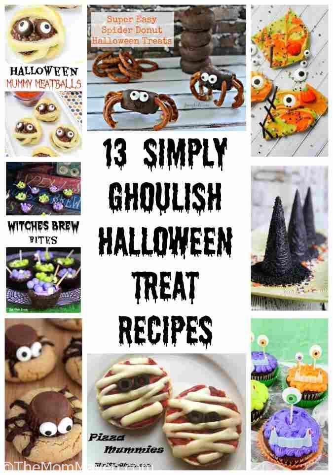 I find the creative Halloween recipes adorable so I decided to put together 13 Simply Ghoulish Halloween Recipes to help you plan your hauntingly fun Halloween celebration.