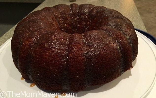 Vanilla Caramel Poke Cake