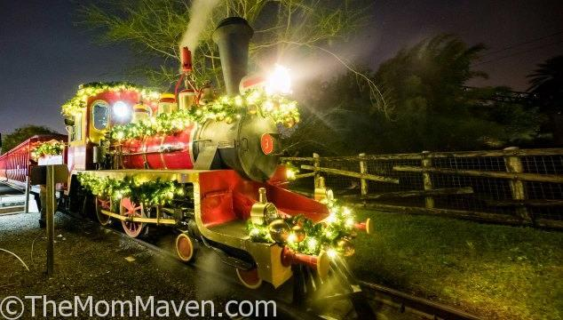 Christmas Town At Busch Gardens Tampa Bay The Mom Maven