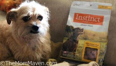 Mushu Reviews Instinct Dog Treats by Nature's Variety