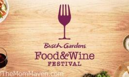 2018 Busch Gardens Food & Wine Festival