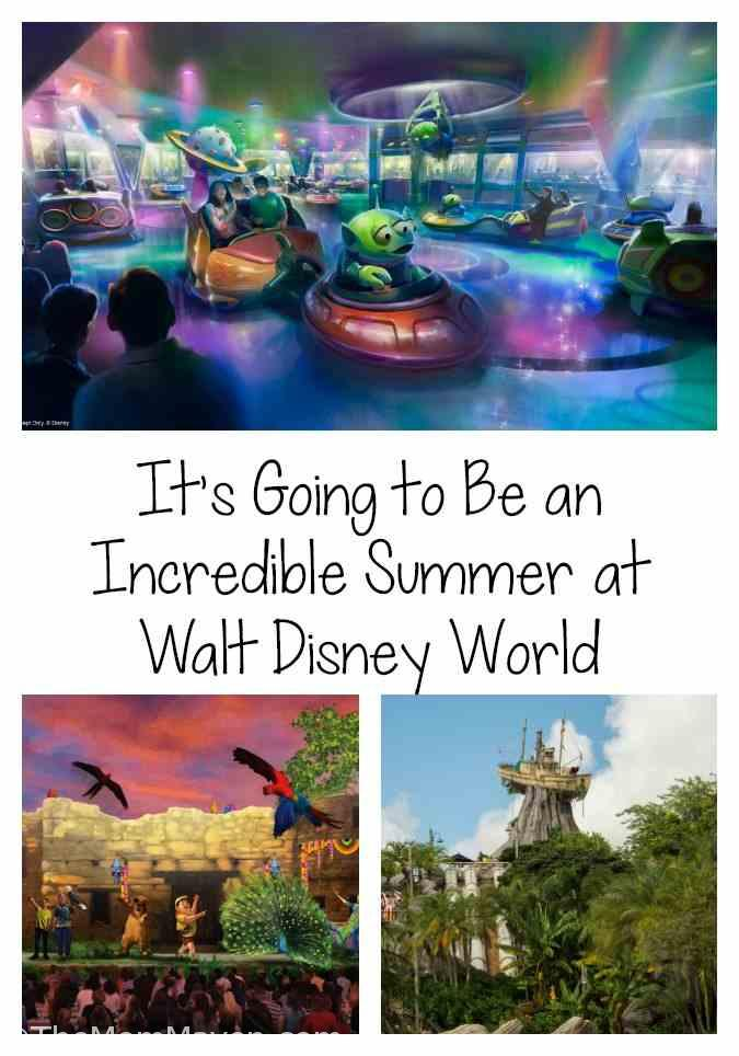 When Disney kicks off its Incredible Summer over Memorial Day weekend, May 25-27, guests will kick up their sandals to nonstop fun, immersed in favorite Disney films, entering the worlds of beloved characters and experiencing exciting new attractions and entertainment.