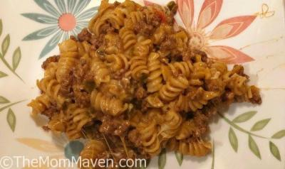 Taco Pasta One Pot Meal