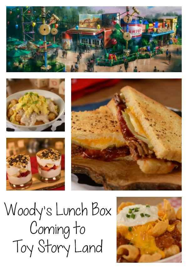 With the opening of Toy Story Land at Disney's Hollywood Studios on June 30, 2018 comes the opening of a new, fun Quick Service Restaurant that I cannot wait to visit. Woody's Lunch Boxwill be serving up classic on-the-go menu items with a nostalgic and creative twist.