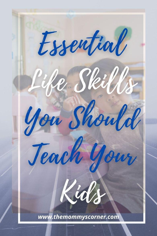 essential life skills for kids