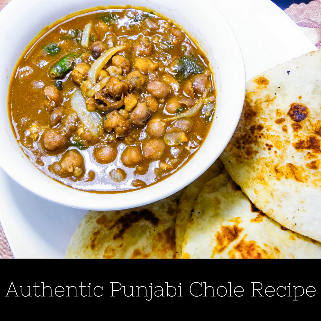 Authentic Punjabi Chole