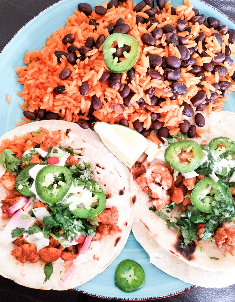 how to make mexican chicken tacos