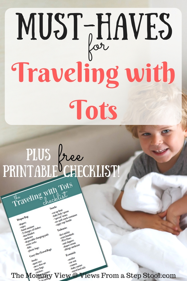 Traveling with toddlers can be challenging, but when prepared, it can be a lot of fun! Check out these must-haves and print the checklist!