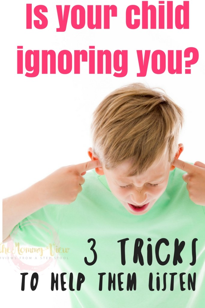 You are trying not to yell, but what else are we supposed to do to make our children listen? These three tricks can help.