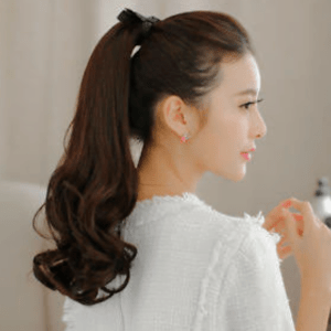 Ponytail- Hairstyles For Busy Moms