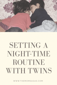 Setting a Night-time routine with twins