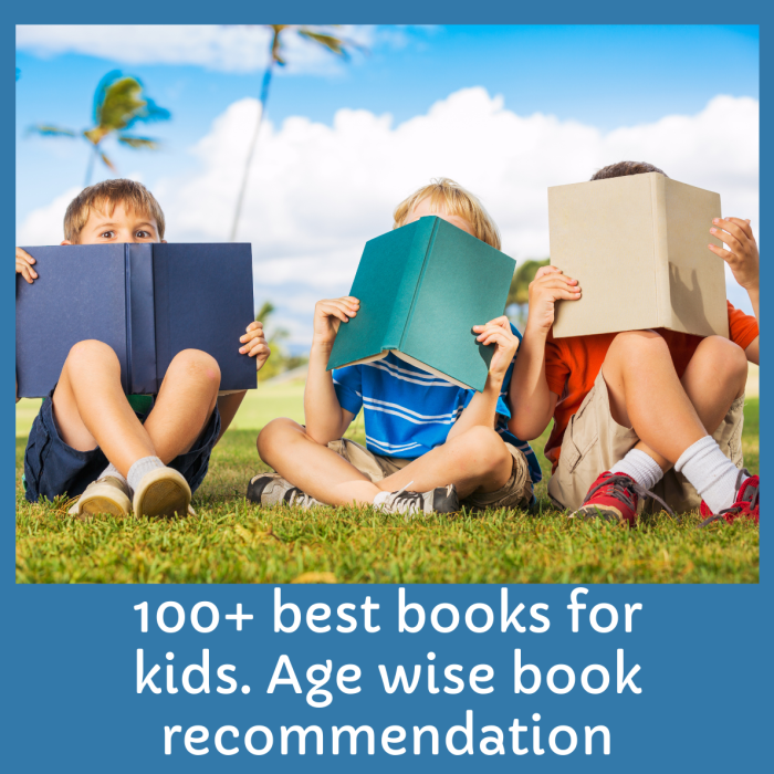 100 Best Book recommendation For Kids