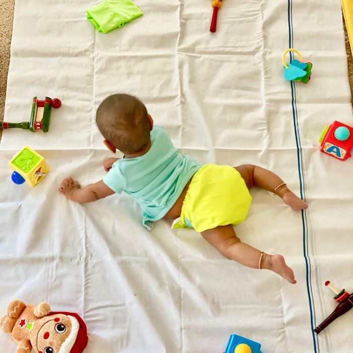 Activities for 4-6 month old babies