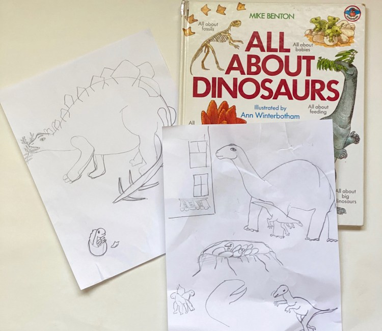 Kids Dinosaur book
