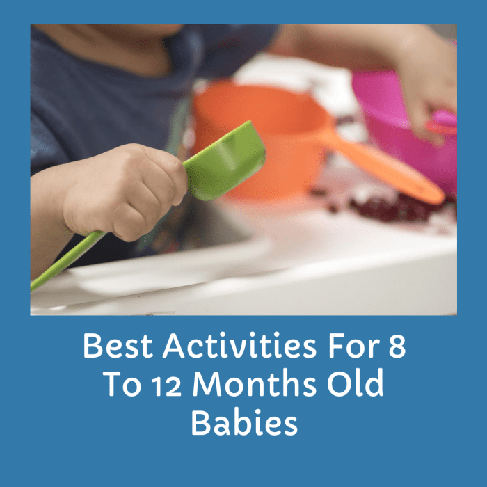 Best Activities For 8 To 12 Months Old Babies