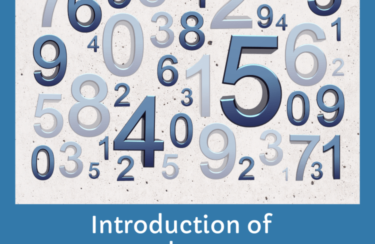 Introduction of numbers
