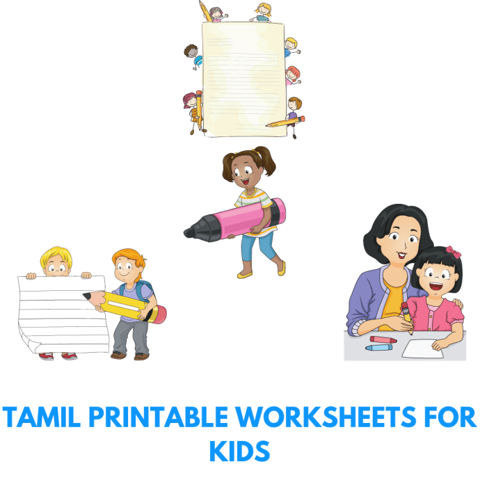 How to learn Tamil?- Tamil Printable worksheets for kids