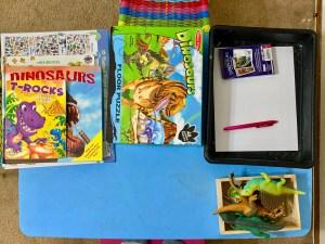 dinosaur theme activities for preschool kids