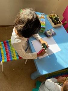 Imaginary skills for preschool kids