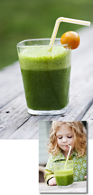 Green Smoothie - Kid tested, babyourself approved!