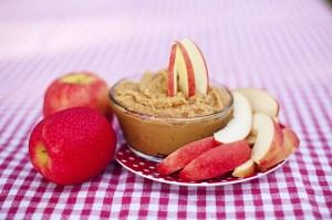 pb dip and apples