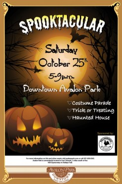 Spooktacular in Downtown Avalon Park
