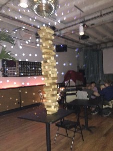 Jenga at The Royal Palms