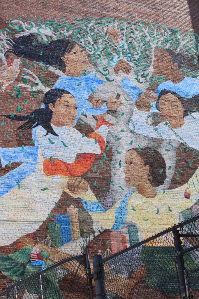 The Mural at New Voices