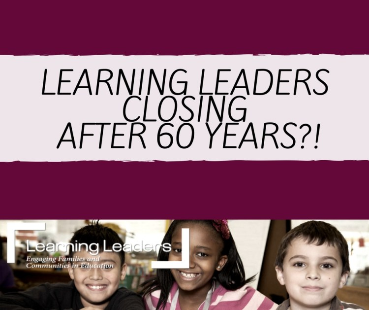 Is it the end of learning leaders?
