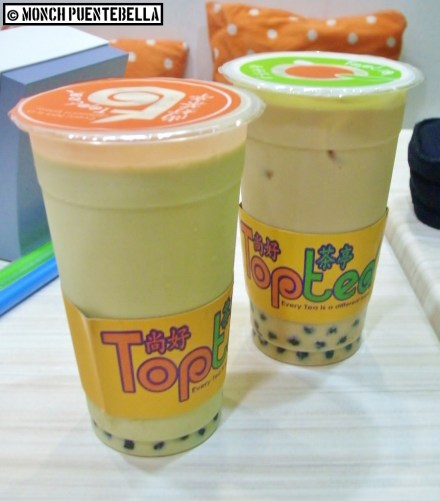 Green Matcha (P90 / large size - left) and Classic Assam (P85 / large size - right): For milk teas of this size, they don't disappoint.