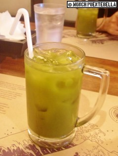 Iced Green Tea (P80): A straightforward take on matcha, iced and sweetened just right.
