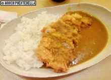 Katsu Curry Loin (P410): Younger brother liked it, but I find it lacking in color; a few hints of green would help brighten up this dish.