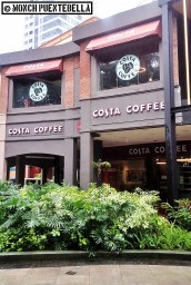 Costa Coffee is conveniently located at the Eastwood City Walk Central Plaza.