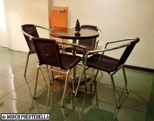 Chairs for those opting to eat in.