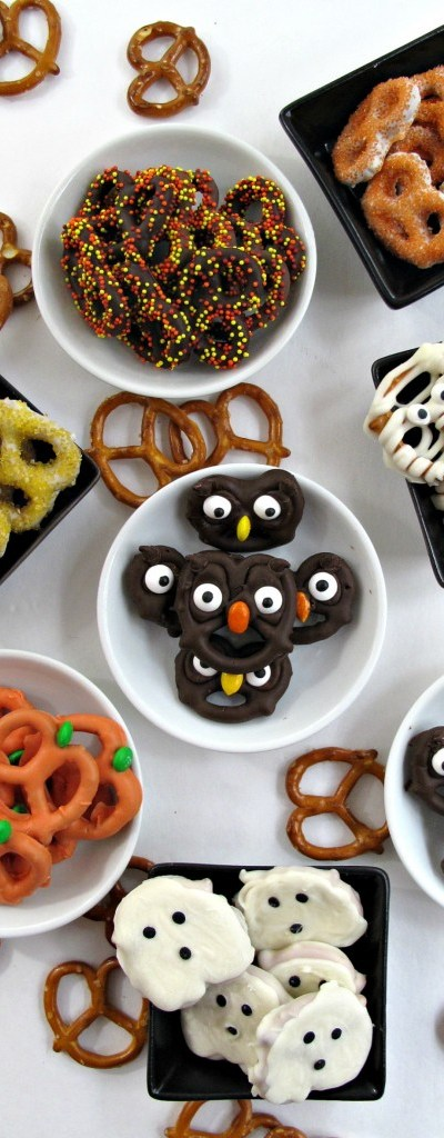 Cute pretzel treats for every occasion. Cute and delicious and perfect for parties!