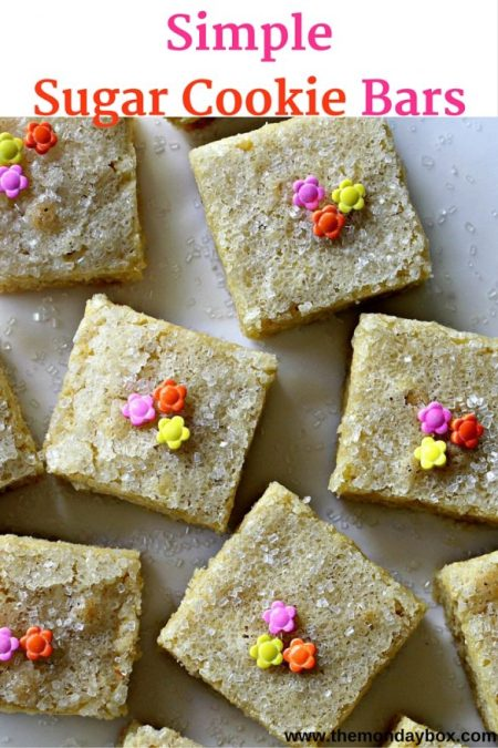 Simple Sugar Cookies/ The Monday Box
