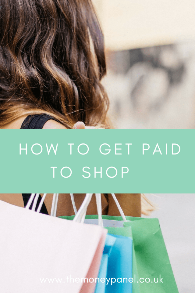 how to get paid to shop