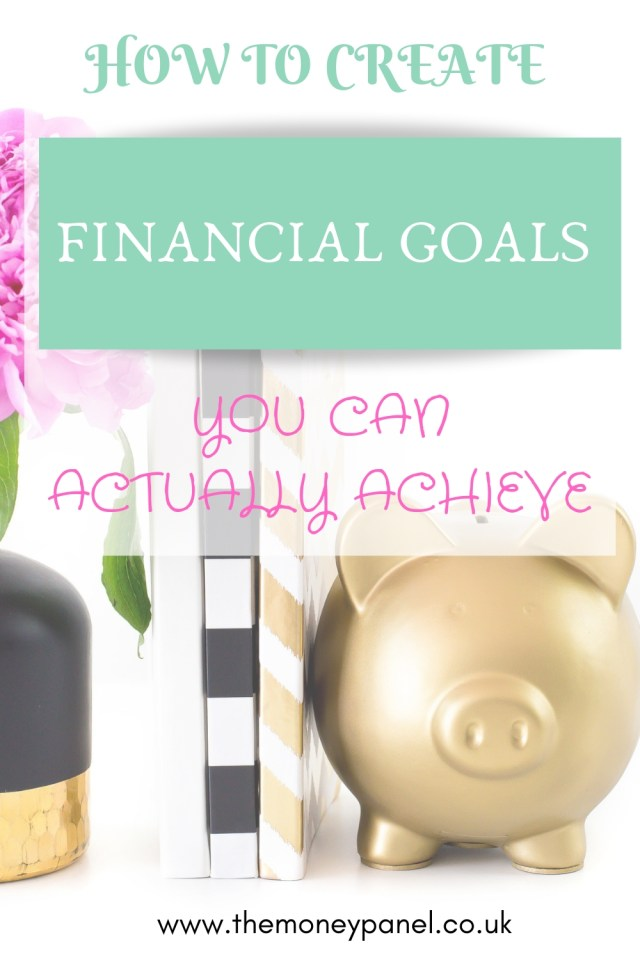 How to create financial goals